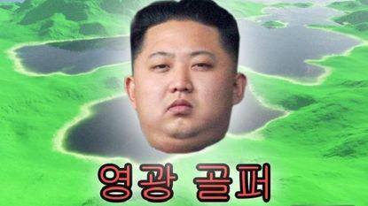 Golfen met Kim Jong-un: alleen maar hole-in-ones
