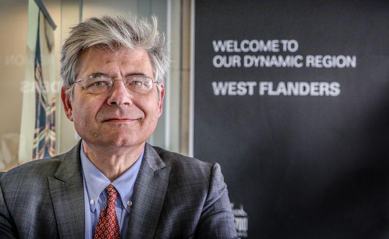 Gedeputeerde Jean de Bethune gelooft in de veerkracht van het dynamische West-Vlaanderen.