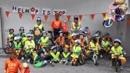 Eerste kleuterklas KoHA Zogge wint fietshelm in kader van verkeersweek