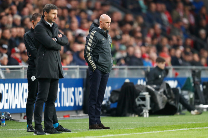 Mark van Bommel en Erik ten Hag.