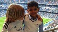 Zoontjes Ronaldo en Modric stelen de show in Bernabeu