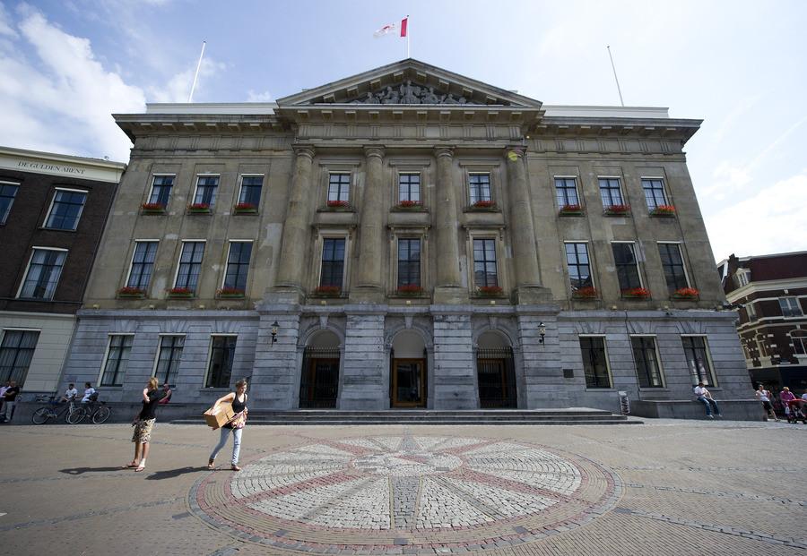 Het stadhuis van Utrecht.