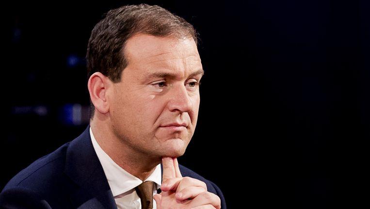 PvdA-leider Lodewijk Asscher zegt dat het voor de hand ligt dat zijn partij in de oppositie belandt. Beeld anp