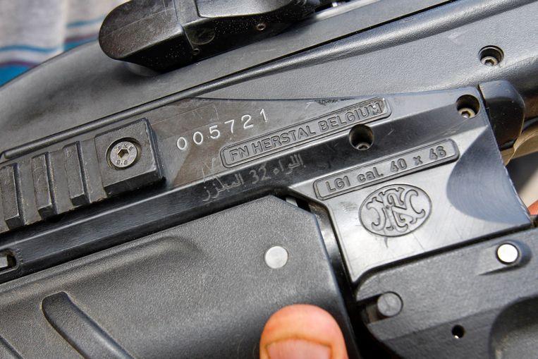 #BelgianArms vond bewijzen dat Saudi-Arabië in België geproduceerde FN F2000-geweren gebruikt.