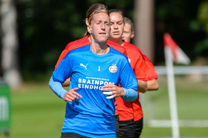 PSV-keeper Sari van Veenendaal.