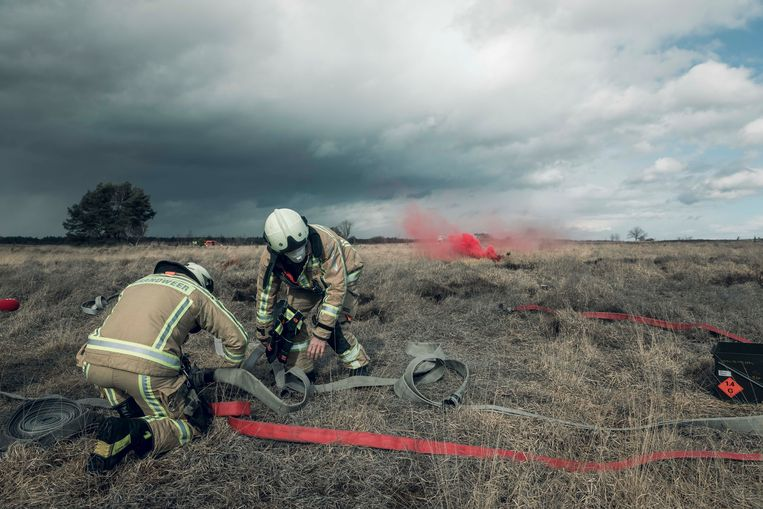 Brandblusoefening