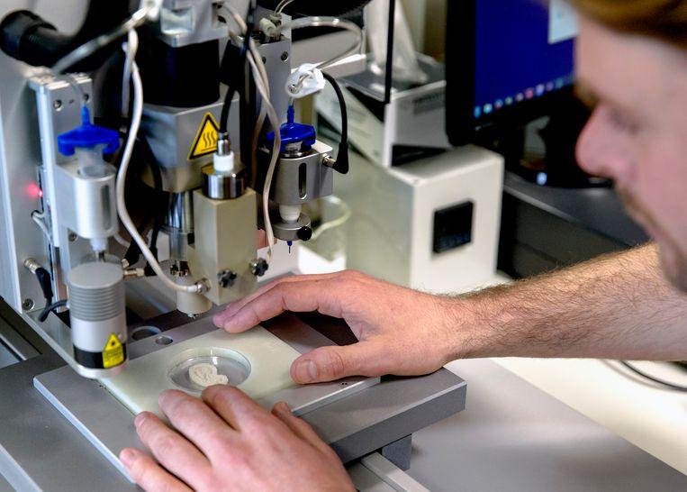 Deelnemers kunnen leren werken met een 3D-printer.