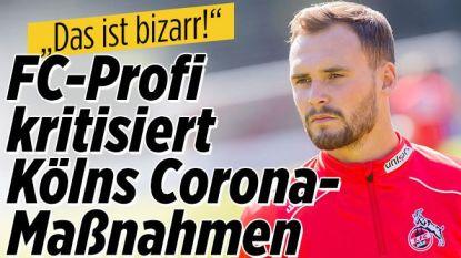 Duitse media vertalen zorg Birger Verstraete in verwijt naar Köln: club roept hem op matje, speler excuseert zich