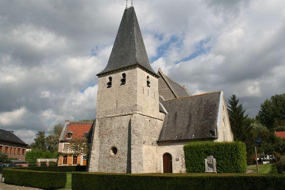 De Sint-Jan-Evangelistkerk in Hoxem.