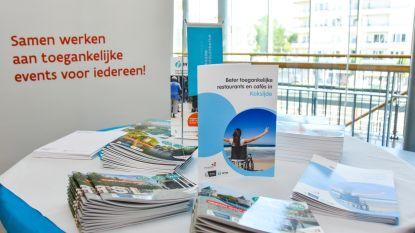 Nieuwe brochure voor mensen met beperking: waar kan je in West-Vlaanderen op restaurant of naar het toilet?
