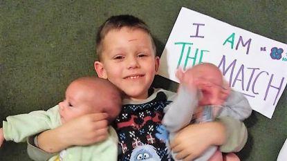 """""""Hij is onze superheld"""": Michael (4) redt leven van tweelingbroers met zeldzame ziekte"""