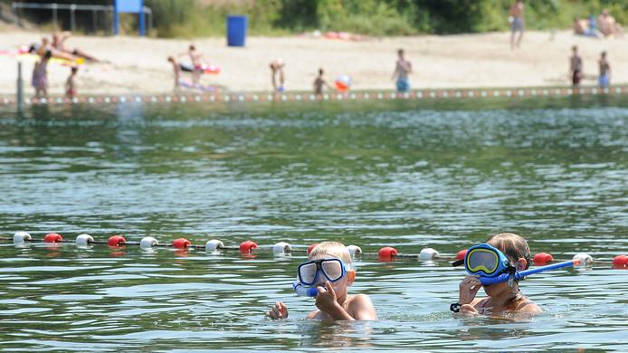 Het is uit met de zwempret bij 't Schaartven.