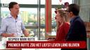 Mark Rutte in de 'Ochtendshow To Go'.