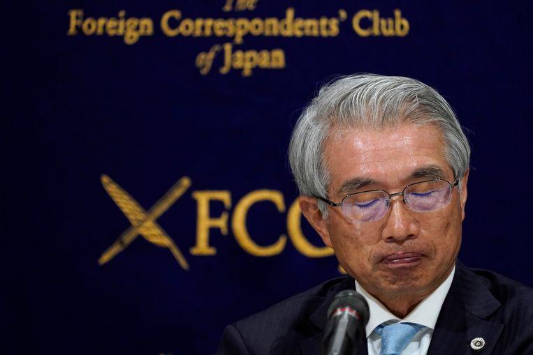 Junichiro Hironaka, de advocaat van Carlos Ghosn, stelde de video voor.