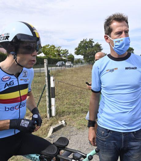 """Wout van Aert, favori au titre mondial du chrono: """"Je ne me sens pas fatigué"""""""