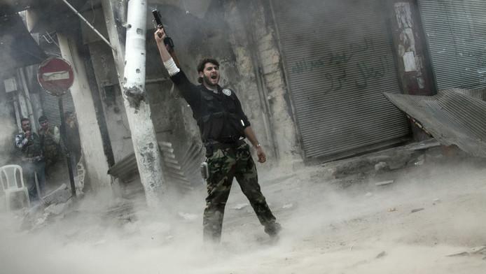 Rebelle syrien (illustration)