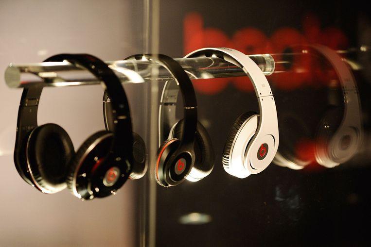 De Beats-hoofdtelefoon.