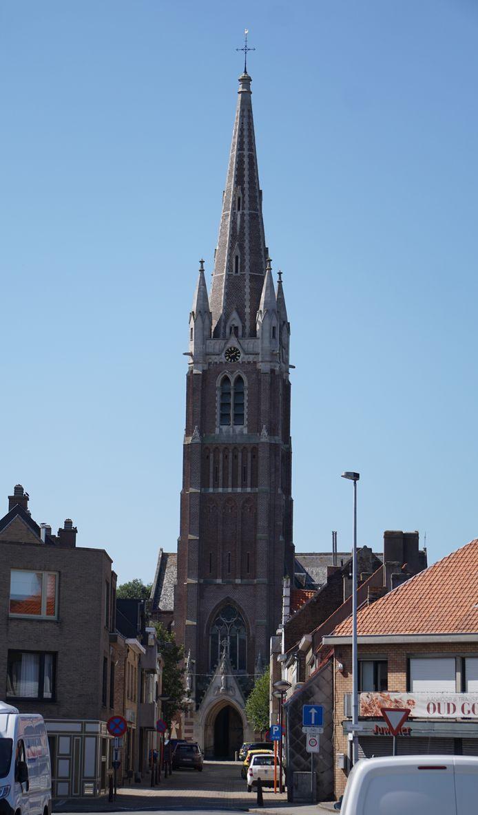 Het centrum van Oudenburg (archief)