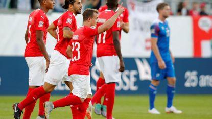 6-0! Zwitsers leiden onder regie van Shaqiri IJslanders, die straks Rode Duivels ontvangen, naar de slachtbank