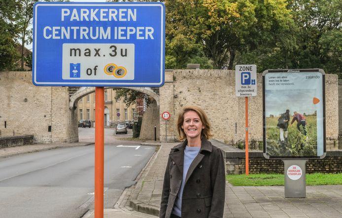 Het nieuwe parkeerplan werd maandag aan de gemeenteraad voorgelegd.