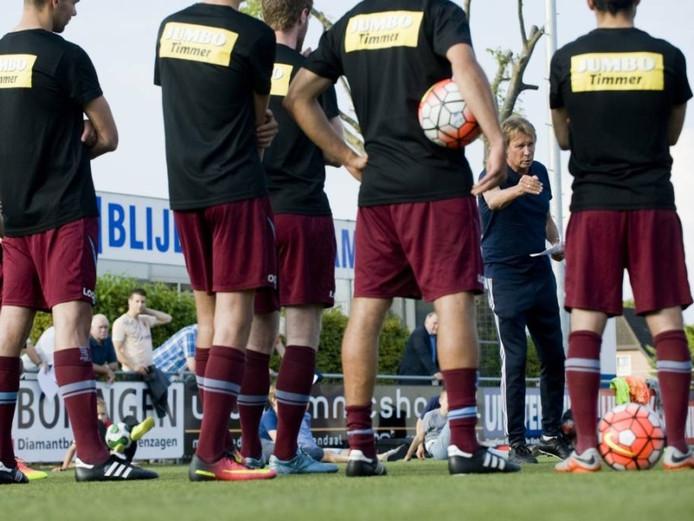 FC Lienden bij een training. Archieffoto Raphaël Drent