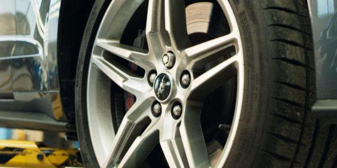 Ford zoekt naar een doeltreffende oplossing tegen diefstal van de doorgaans nogal dure lichtmetalen wielen