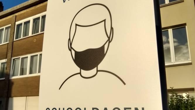 Mondmasker vanaf maandag verplicht rond scholen