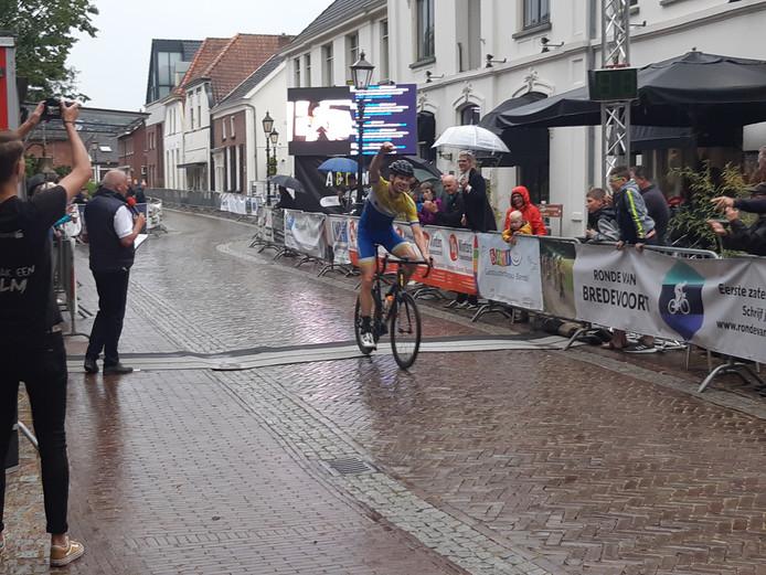Gerjo Berentschot wint in Bredevoort. Foto DG