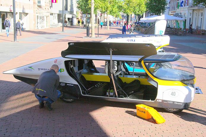 Pronkstuk Solar Team Eindhoven