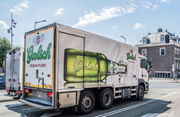 Grolsch brengt sinds een week bier aan huis in Twente