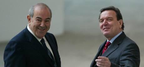 Schröder bekritiseert opvolger Merkel over VS