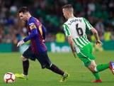 Geniale Messi leidt Barça langs Betis