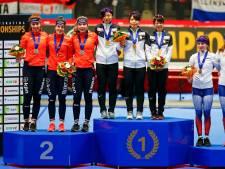 Nederlandse schaatssters winnen zilver op de achtervolging, goud voor Japan