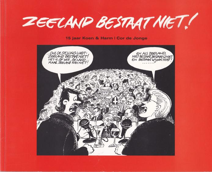cover Zeeland bestaat niet Cor de Jonge 2004
