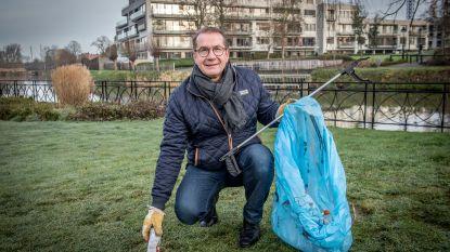 """""""Als een kwart van de Roeselarenaars dagelijks één stuk zwerfvuil opruimt, is de stad binnenkort proper"""""""
