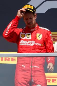 Ferrari en appel de la pénalité de Vettel: revivez la tension depuis son habitacle