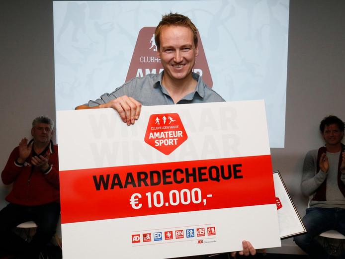Geert-Jan van Dijken, clubheld van het jaar 2016.