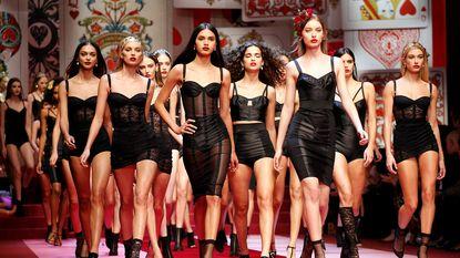 Dolce & Gabbana ruilt modellen in voor millennials op 'stiekeme' modeshow