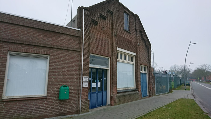 Het Unox-winkeltje aan de Gasstraat. Tegenwoordig zijn de deuren alleen op dinsdag en woensdag geopend.