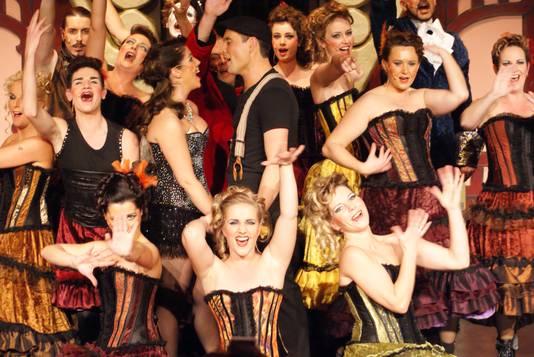 Théâtre Zazou, een van de producties van Myra Ceti.