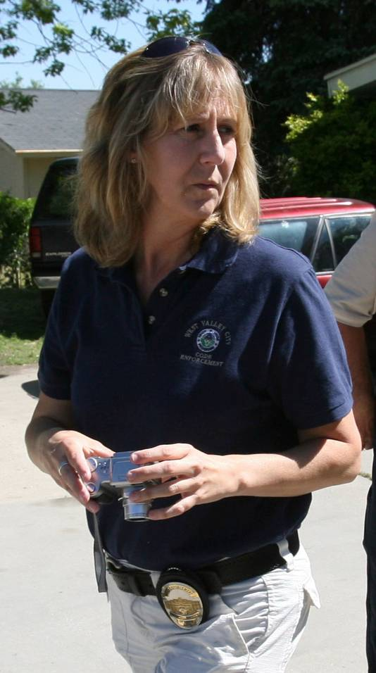 Jill Robinson in 2008, toen nog wijkagente.