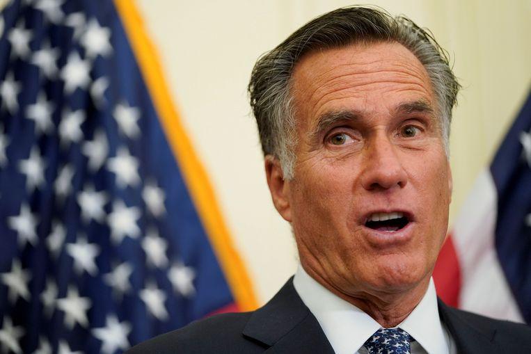 """Romney vergelijkt Trump op Twitter met zijn nichtje op Instagram. """"Het is te veel"""", zegt de politicus."""