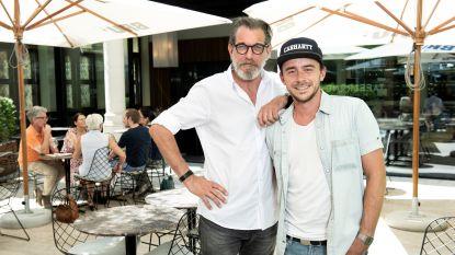 Opvallende vriendschap: Rob Vanoudenhoven en Dean zijn al jaren de beste kameraden