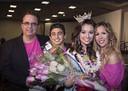 Glenn Medeiros met zoon Chord, vrouw Tammy en dochter Lyric