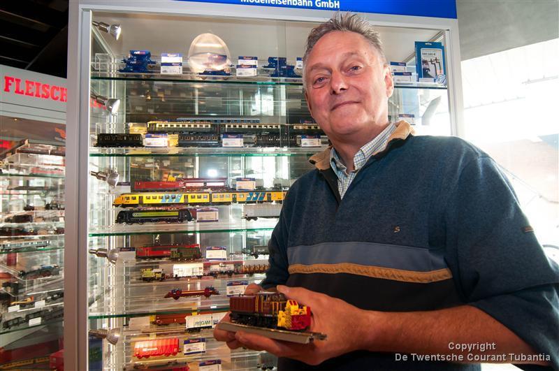 Barry Somberg, van de gelijknamige modelbouw winkel in Almelo.