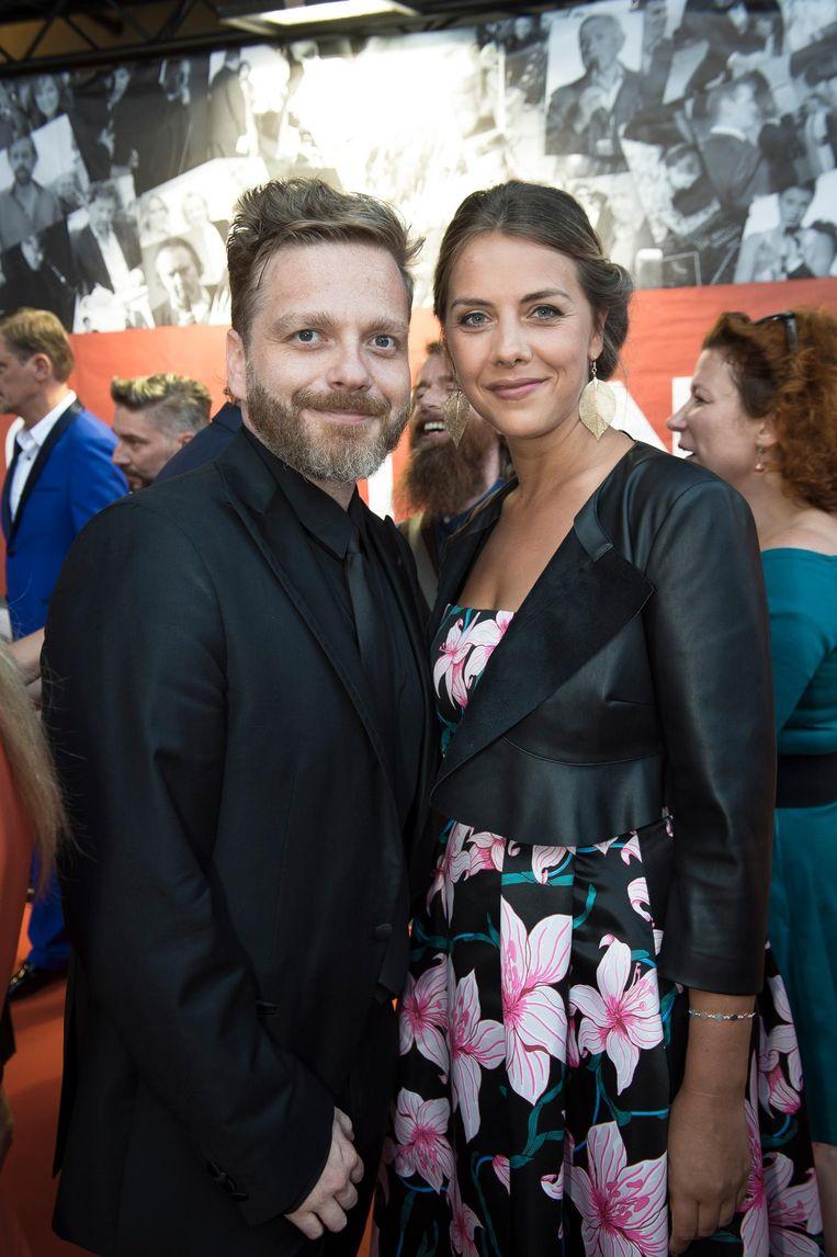 Udo met zijn vriendin, actrice Leen Dendievel