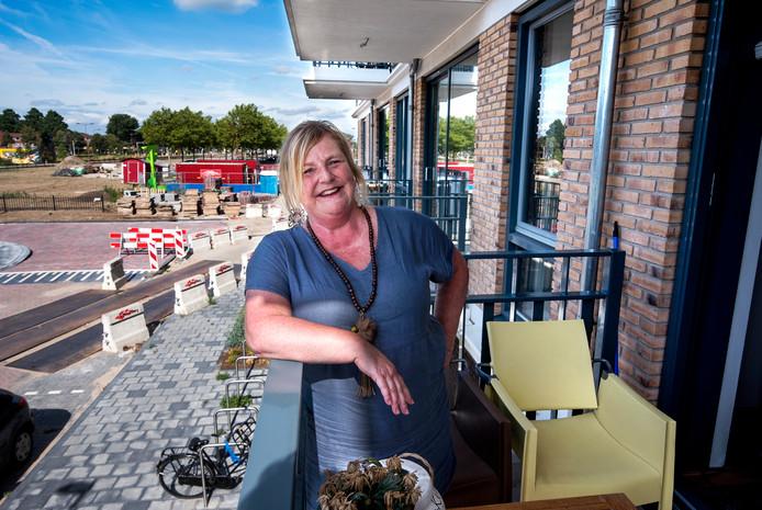 Bewoonster Erica Taal is dolgelukkig in Nieuwegein.