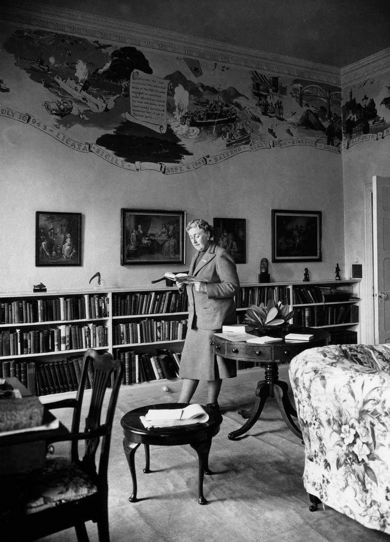 Thuis in 1948.  Beeld AFP