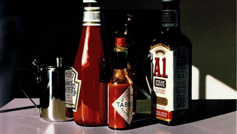 Ralph Goings, A1 Sauce, 1995. Beeld The Estate of Ralph Goings