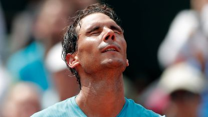 Nadal pakt 37ste (!) opeenvolgende set in Parijs - Kasatkina schakelt Wozniacki uit, ook Kerber en Muguruza ronde verder